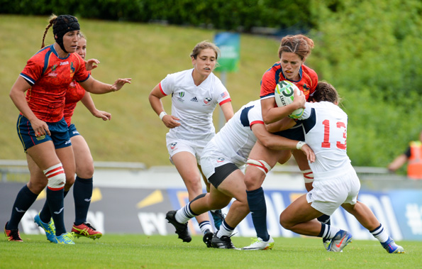 Women's Rugby World Cup 2017, Pool B, Match 8 – USA vs Spain