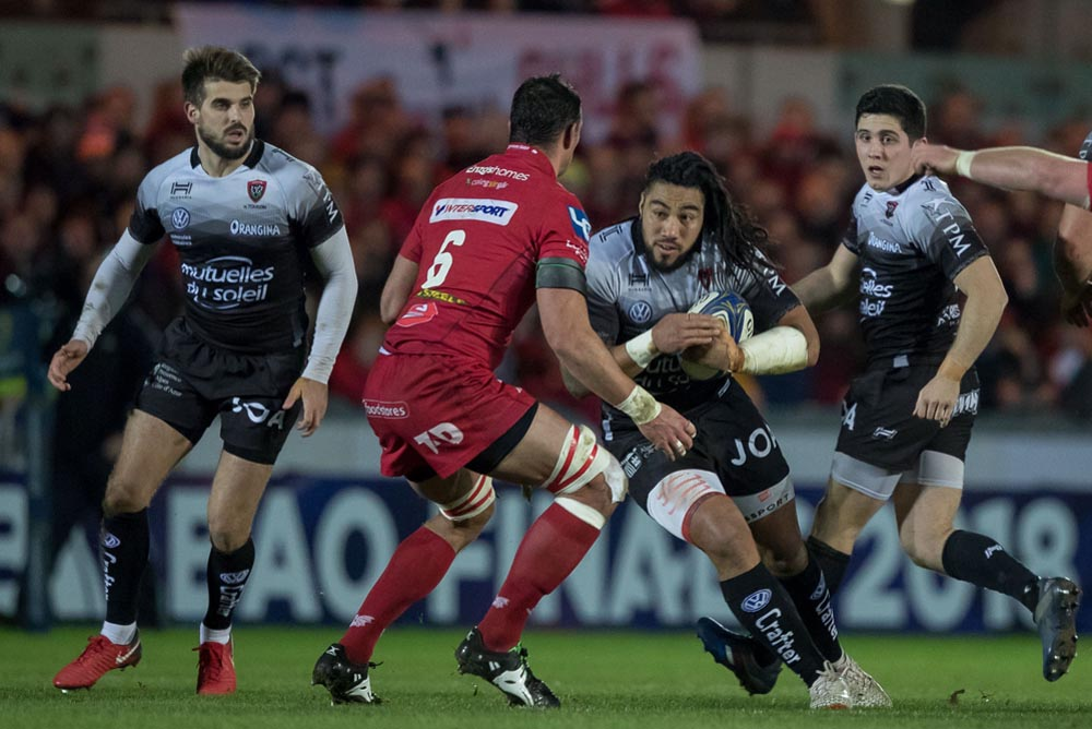 Hugo Bonneval, Ma'a Nonu and Anthony Belleau 20/1/2018