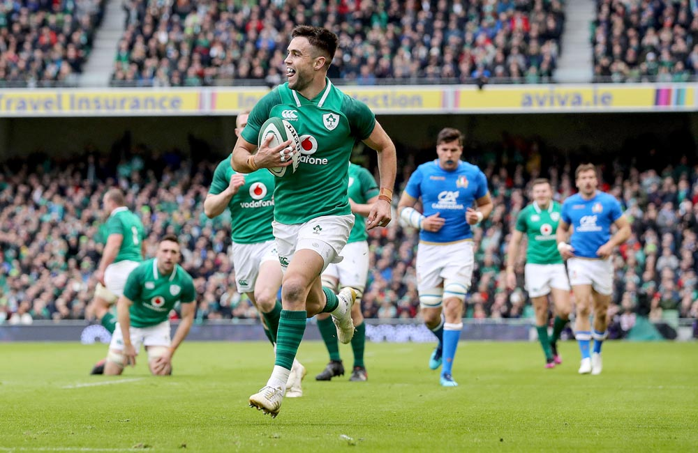 Conor Murray scores his sides second try 10/2/2018