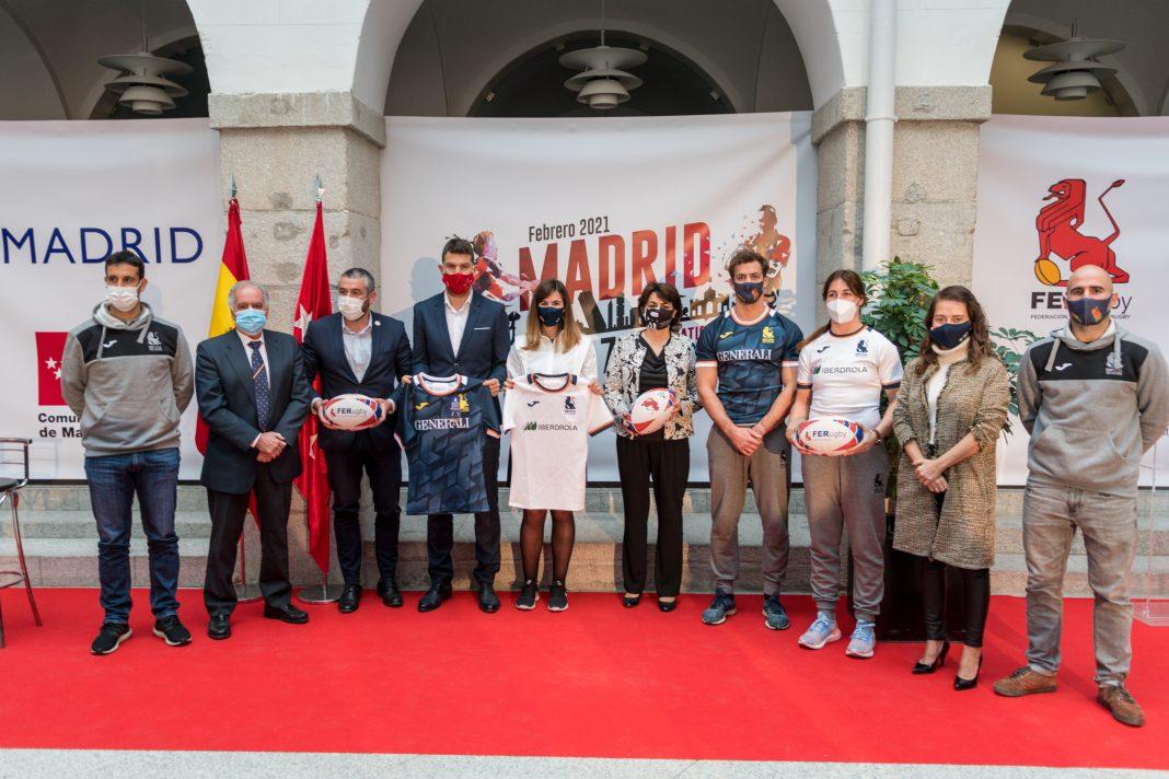 Presentación del 7's de Madrid. / Photo Walter Degirolmo